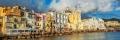 colori pastello di Ischia Ponte