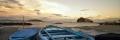 barche alla spiaggia della Mandra Ischia