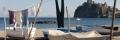 panni stesi spiaggia pescatori Ischia