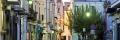 tra le strade del centro storico di Ischia Ponte
