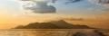 vista di Ischia al tramonto